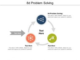 8d Problem Solving Ppt Powerpoint Presentation Layouts Outfit Cpb