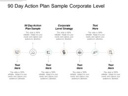 90 Day Action Plan Sample Corporate Level Strategy Cpb