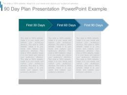 90 Day Plan Presentation Powerpoint Example