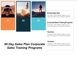 90 Day Sales Plan Corporate Sales Training Programs Cpb