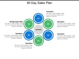 90 Day Sales Plan Ppt Powerpoint Presentation Model Professional Cpb