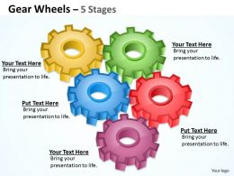 90 Gear Wheel 5 Stages