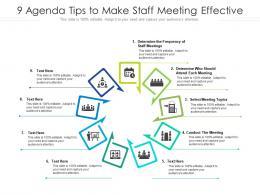 9 Agenda Tips To Make Staff Meeting Effective