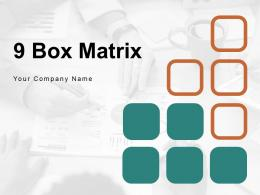 9 Box Matrix Industry Attractiveness Analysis Marketing Performance Evaluation