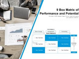 9 Box Matrix Of Performance And Potential