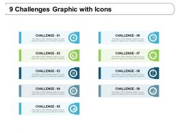 9 Challenges Graphic With Icons