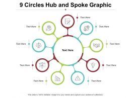 9 Circles Hub And Spoke Graphic
