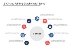 9 Circles Joining Graphic With Icons