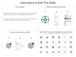 9 Element Slides With Pencil Graphic