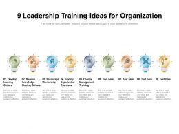 9 Leadership Training Ideas For Organization