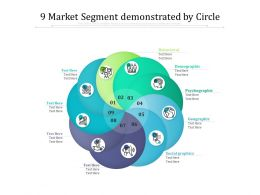 9 Market Segment Demonstrated By Circle