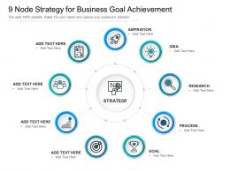 9 Node Strategy For Business Goal Achievement