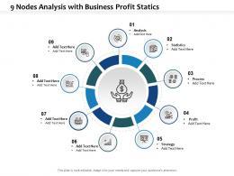 9 Nodes Analysis With Business Profit Statics