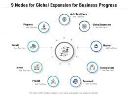 9 Nodes For Global Expansion For Business Progress