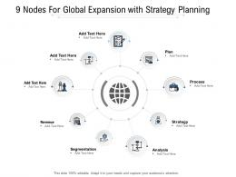 9 Nodes For Global Expansion With Strategy Planning