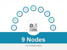 9 Nodes Strategy Business Goal Achievement Research Analysis Expansion