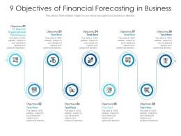 9 Objectives Of Financial Forecasting In Business