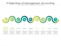 9 Objectives Of Management Accounting