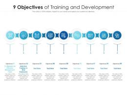 9 Objectives Of Training And Development