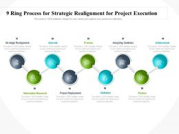 9 Ring Process For Strategic Realignment For Project Execution