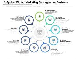 9 Spokes Digital Marketing Strategies For Business