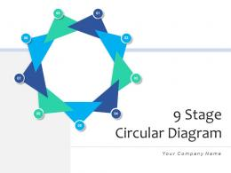 9 Stage Circular Diagram Business Strategy Framework Research Evaluation