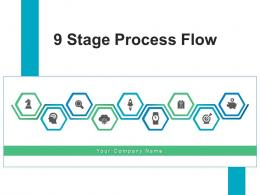 9 Stage Process Flow Development Innovation Product Manufacturing Financial Investment