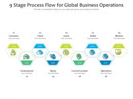 9 Stage Process Flow For Global Business Operations