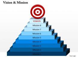 37517956 Style Essentials 1 Our Vision 9 Piece Powerpoint Presentation Diagram Infographic Slide