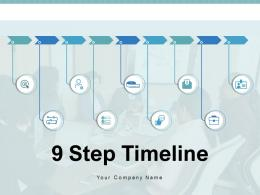 9 Step Timeline Planning Location Resources Sequence Business Corporate