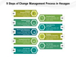 9 Steps Of Change Management Process In Hexagon