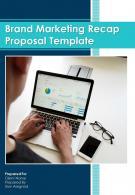A4 Brand Marketing Recap Proposal Template