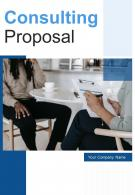 A4 Consulting Proposal Template