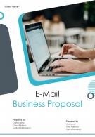 A4 E Mail Business Proposal Template