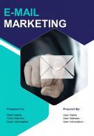 A4 E Mail Marketing Proposal Template