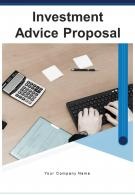 A4 Investment Advice Proposal Template
