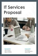 A4 IT Services Proposal Template
