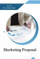 A4 Marketing Proposal Template