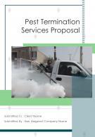 A4 Pest Termination Services Proposal Template