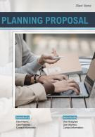 A4 Planning Proposal Template