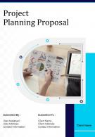A4 Project Planning Proposal Template
