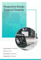 A4 Responsive Design Proposal Template
