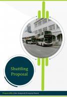 A4 Shuttling Proposal Template