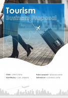 A4 Tourism Business Proposal Template