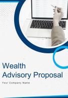 A4 Wealth Advisory Proposal Template