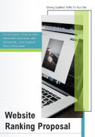 A4 Website Ranking Proposal Template