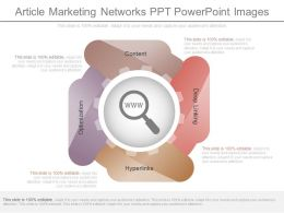 A Article Marketing Networks Ppt Powerpoint Images
