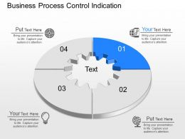 a Business Process Control Indication Powerpoint Template
