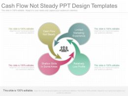 A Cash Flow Not Steady Ppt Design Templates