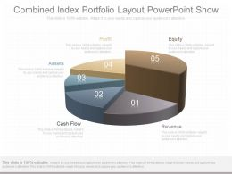 A Combined Index Portfolio Layout Powerpoint Show